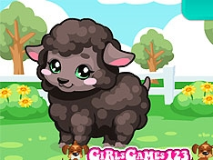 Игра Ухаживаем за овечкой