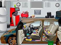Игра Помой машину босса