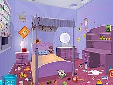 Игра Грязная детская комната