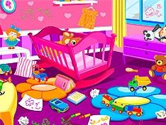 Игра Приберись в комнате малыша