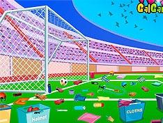 Игра Футбольное поле после матча