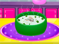 Игра Крем-суп с грибами