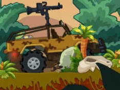 Игра Динозавры на колесах