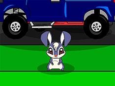 Игра Проведи Кико через дорогу