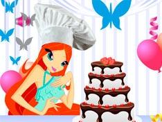Винкс: Украсим торт с Блум