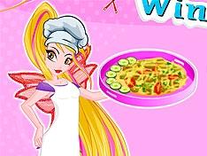 Винкс: Готовим пиццу с флорой