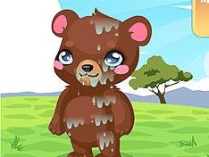 Грязный медвежонок