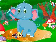 Игра Уход за слоненком